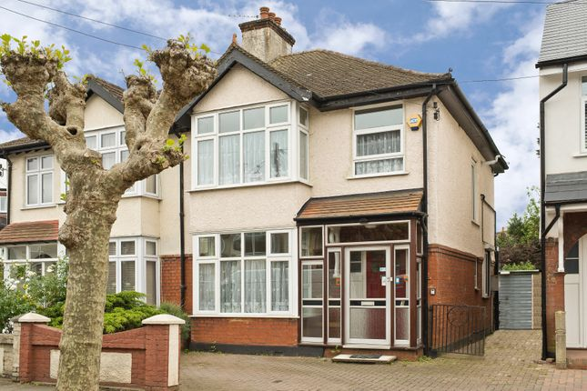 Thumbnail Semi-detached house for sale in Somerset Avenue, London