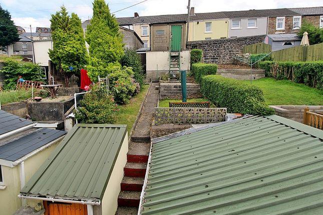 Outside of York Terrace, Georgetown, Tredegar, Blaenau Gwent. NP22