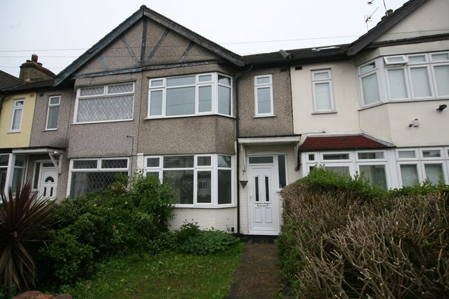 Thumbnail Terraced house to rent in Waverley Road, Rainham