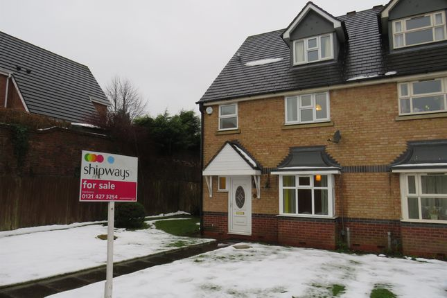 Thumbnail End terrace house for sale in Mariner Avenue, Edgbaston, Birmingham
