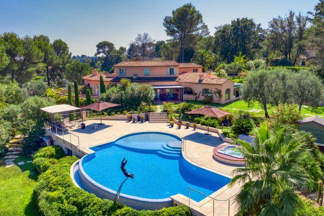 Thumbnail Villa for sale in Valbonne, Mougins, Valbonne, Grasse Area, French Riviera