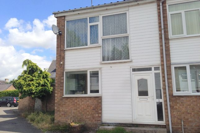 Thumbnail End terrace house to rent in Northcroft, Sudbury