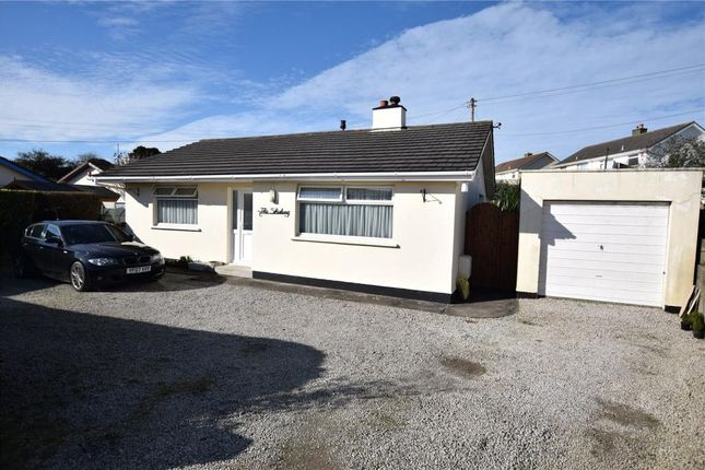 Thumbnail Detached bungalow for sale in Carne View Close, Camborne, Cornwall