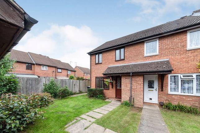 Thumbnail End terrace house for sale in Wolstan Close, Denham, Uxbridge