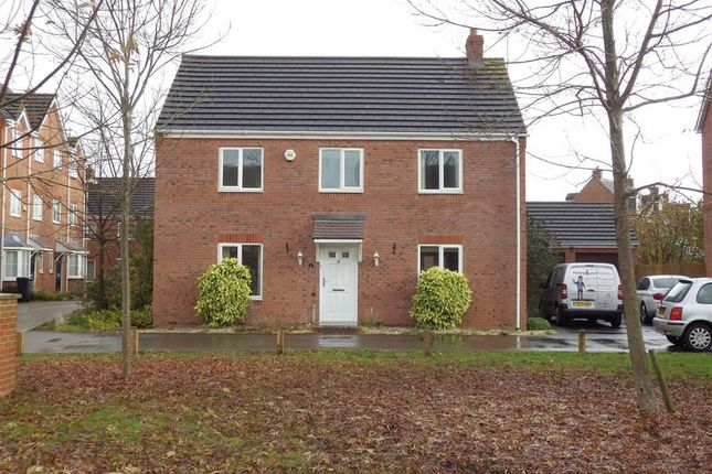 Thumbnail Detached house for sale in Mildenhall Way Kingsway, Quedgeley, Gloucester
