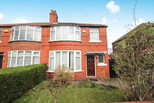Thumbnail Semi-detached house to rent in Brentbridge Road, Withington, Manchester