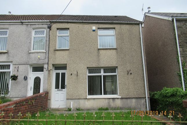 Thumbnail End terrace house to rent in Bridgend Road, Maesteg, Bridgend.
