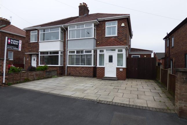 Thumbnail Semi-detached house to rent in Sackville Road, Windle, St. Helens