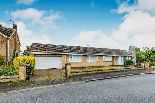 Thumbnail Detached bungalow for sale in St Edwards Drive, Sudbrooke, Lincoln