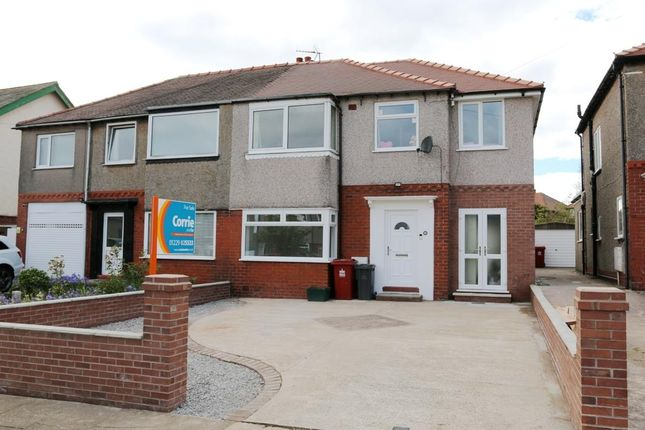 Thumbnail Semi-detached house for sale in Hill Road, Barrow-In-Furness