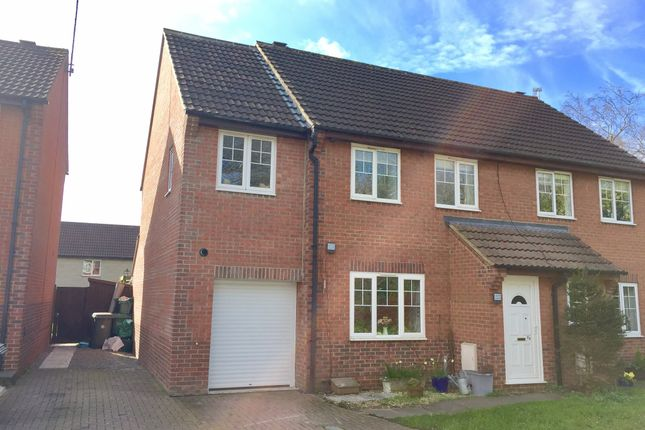Thumbnail Semi-detached house for sale in Couzens Close, Chipping Sodbury, Bristol