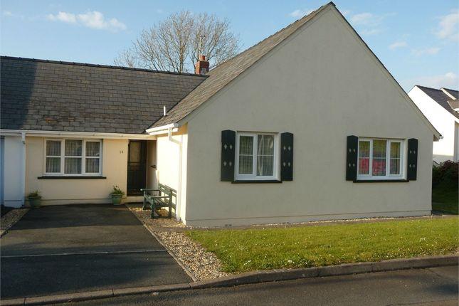 Thumbnail Semi-detached bungalow for sale in 14 Parc-Yr-Eglwys, Dinas Cross, Newport, Pembrokeshire
