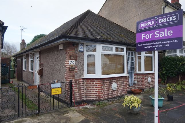 Thumbnail Detached bungalow for sale in Corbylands Road, Sidcup
