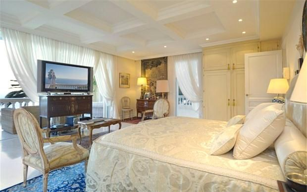 Bedroom of Cap D'ail, French Riviera, 06320
