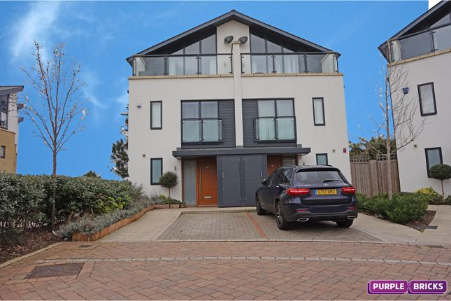 Thumbnail Semi-detached house for sale in Godwin Terrace, Harold Wood