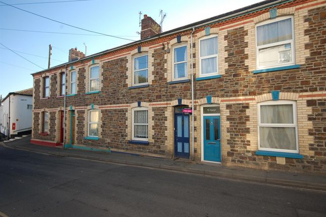 Thumbnail Terraced house for sale in Myrtle Street, Appledore, Bideford