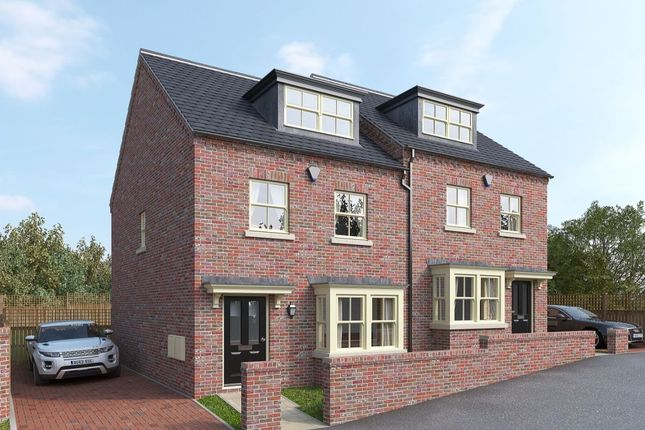 Thumbnail Semi-detached house for sale in St John's, St. Johns Avenue, Wakefield