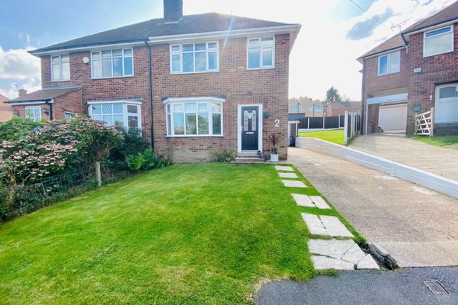 Thumbnail 3 bed semi-detached house for sale in School Close, Halfway, Sheffield