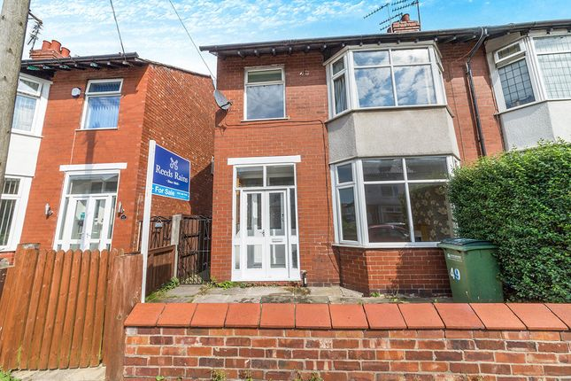 Thumbnail Semi-detached house for sale in Ripley Avenue, Great Moor, Stockport