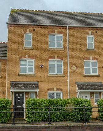 Thumbnail Town house for sale in School Lane, Higham Ferrers, Rushden