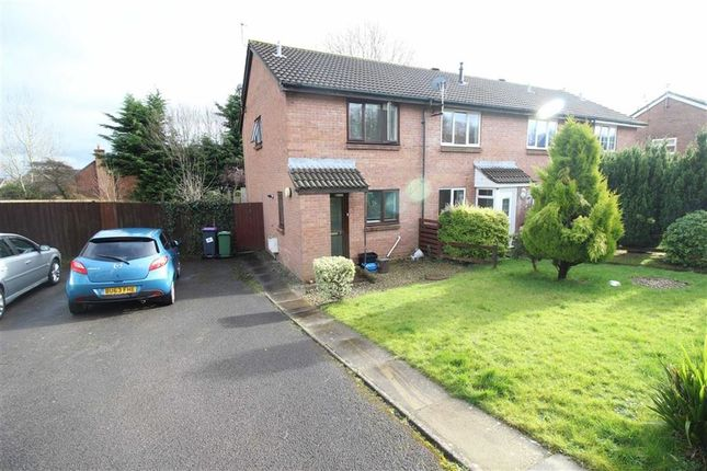 Thumbnail End terrace house for sale in Open Hearth Close, Griffithstown, Pontypool