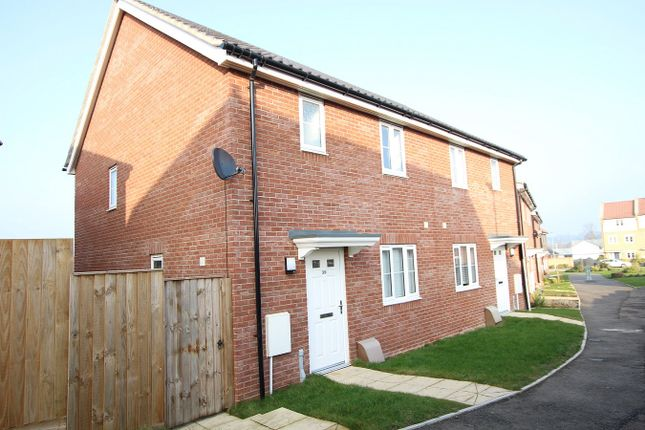 3 bed semi-detached house for sale in Valley View Drive, Great Blakenham, Ipswich, Suffolk