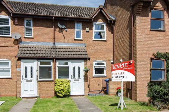 Thumbnail Terraced house for sale in Lea Hall Drive, Chase Terrace, Burntwood