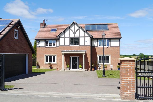 Thumbnail Detached house for sale in The Avenue, Medburn, Nr Ponteland