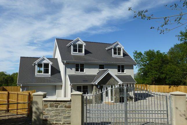 Thumbnail Detached house for sale in Hafod Road, Tycroes, Ammanford, Carmarthenshire.
