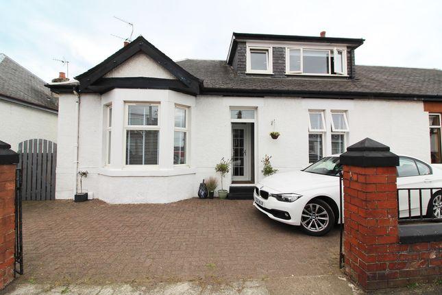 Thumbnail Semi-detached bungalow for sale in Briarhill Road, Prestwick