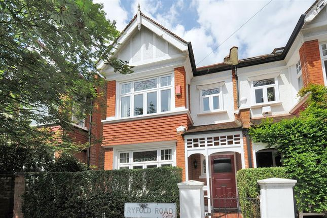 Thumbnail End terrace house for sale in Ryfold Road, London