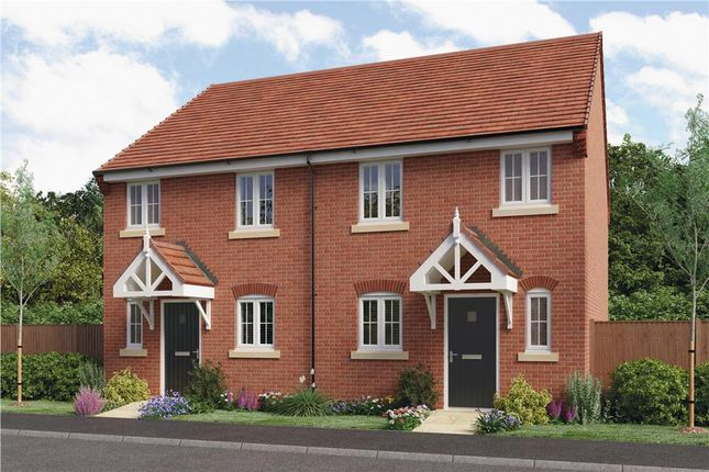 "Thumbnail Semi-detached house for sale in ""Beeley"" at Copcut Lane, Copcut, Droitwich"