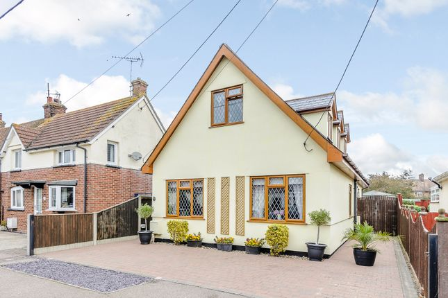 Thumbnail Detached house for sale in Lodge Road, Little Oakley