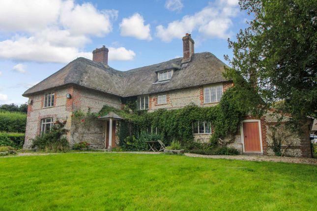 Thumbnail Farmhouse to rent in Milton Abbas, Blandford Forum, Dorset