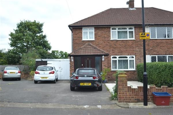 Semi-detached house for sale in Pates Manor Drive, Bedfont, Feltham