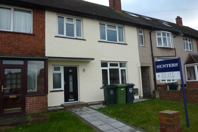Thumbnail Terraced house to rent in Farnol Road, Dartford, Kent