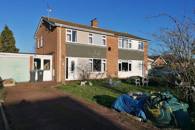 Semi-detached house for sale in Danes Close, Stowmarket