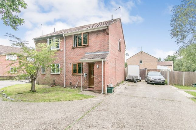 Thumbnail Semi-detached house for sale in Sea King Crescent, Highwoods, Colchester