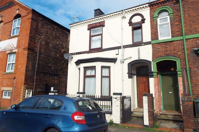 Thumbnail Terraced house to rent in Ashford Street, Stoke-On-Trent