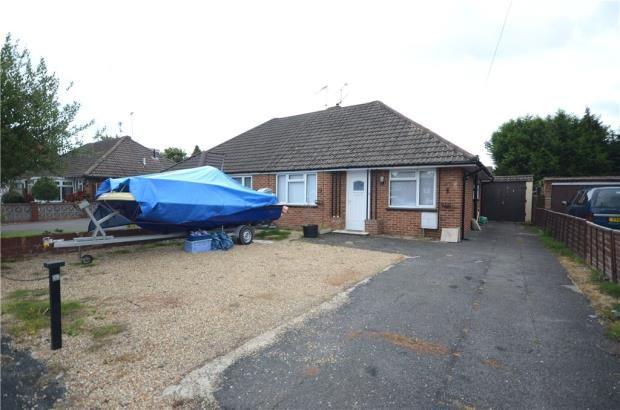 Thumbnail Semi-detached bungalow for sale in Lynn Way, Farnborough, Hampshire