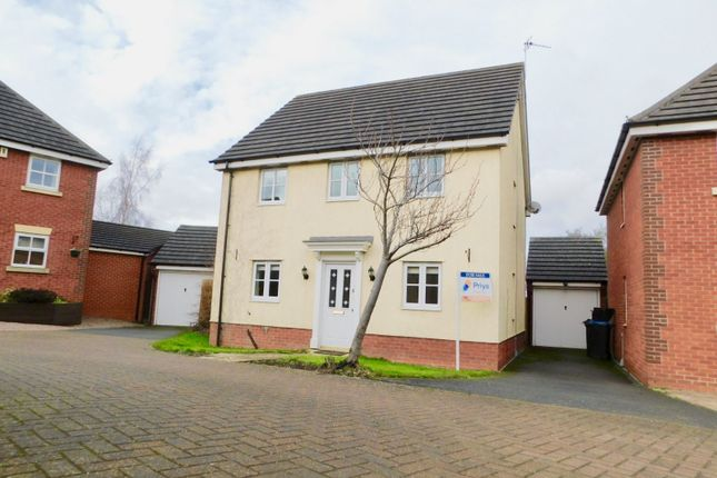 Thumbnail Detached house for sale in Barons Close, Kirby Muxloe, Leicester