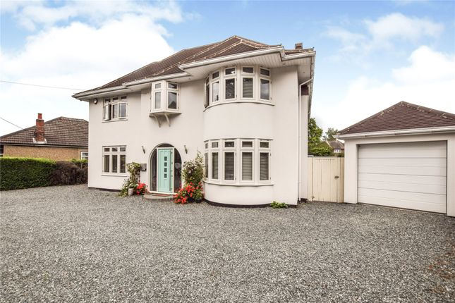 Detached house for sale in Ongar Road, Kelvedon Hatch, Brentwood, Essex