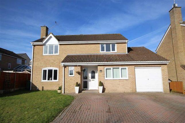 Thumbnail Detached house for sale in Clinton Close, Grange Park, Swindon