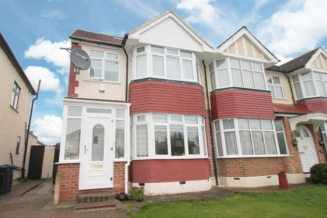 Thumbnail Semi-detached house for sale in The Fairway, Palmers Green, London