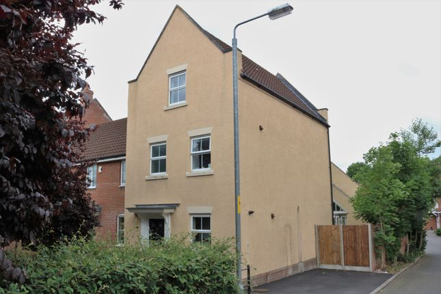 Thumbnail End terrace house for sale in Marauder Road, Norwich