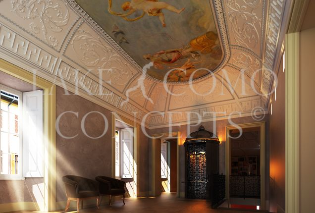 Thumbnail Detached house for sale in Entire Palazzo, Como Town Centre, Lake Como, Lombardy, Italy