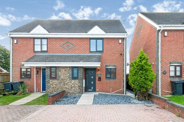 Thumbnail Semi-detached house for sale in Aberdale Road, Polegate