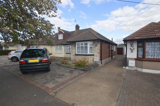 Thumbnail Bungalow for sale in Thorndon Avenue, West Horndon, Essex