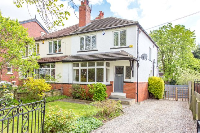Thumbnail Semi-detached house to rent in Shaftesbury Avenue, Leeds, West Yorkshire
