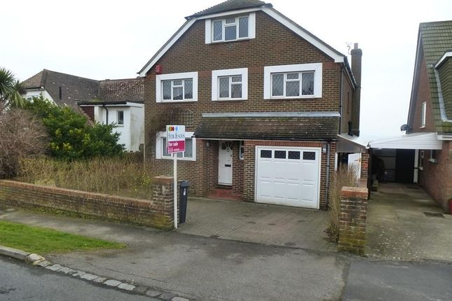 Thumbnail Detached house for sale in Wicklands Avenue, Saltdean, Brighton